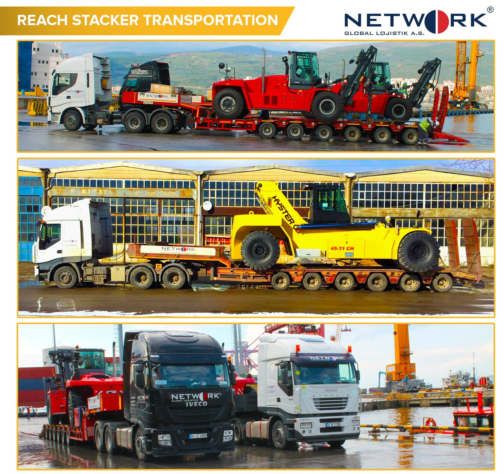 Reach Stacker Transportation