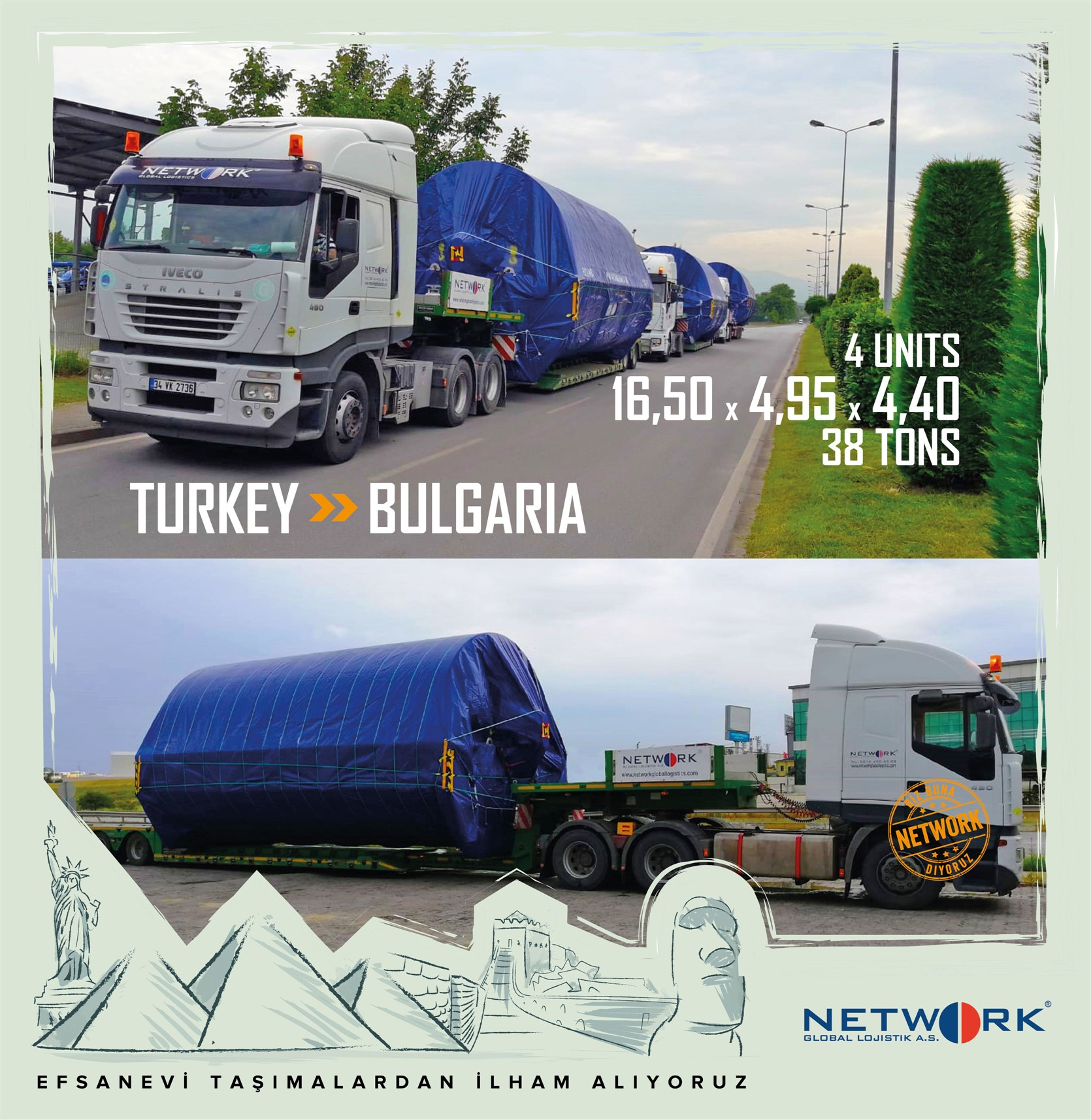 Turkey - Bulgaria Heavy Transport