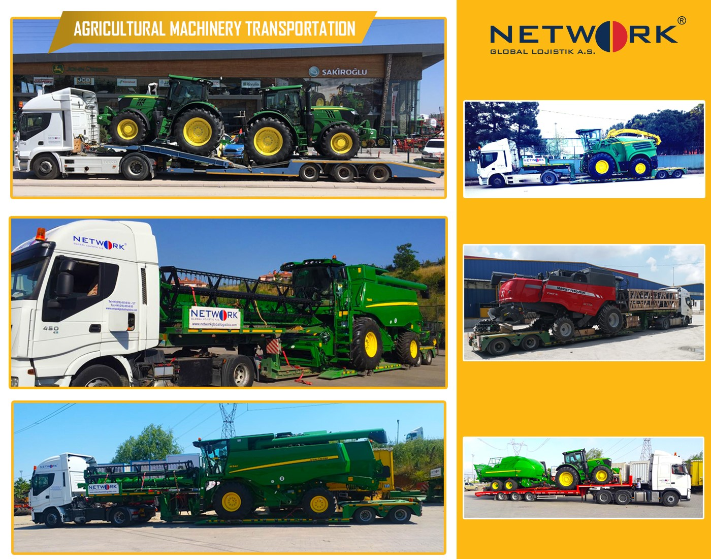 Agricultural Machinery Transport
