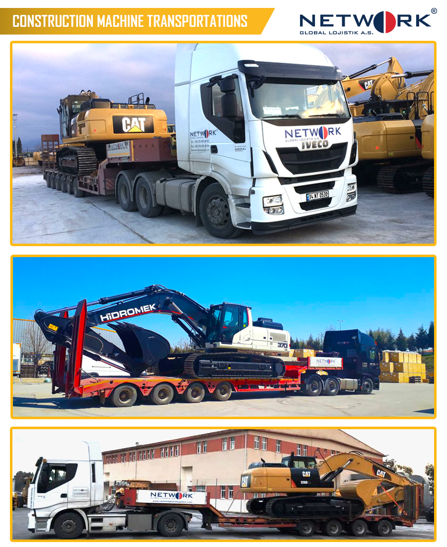 Construction Machine Transportation