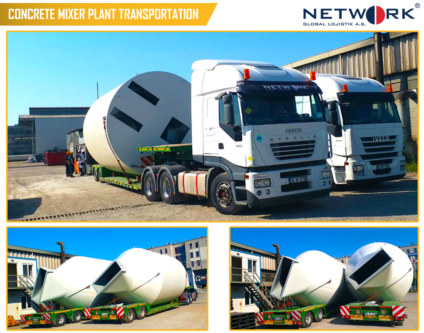Concrete Mixer Transportation