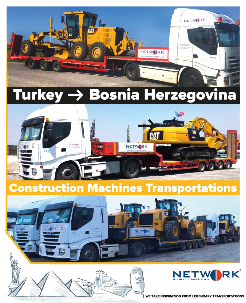 Türkiye - Bosna Hersek - Network Global Logistics